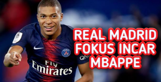 Neymar Tidak Jadi, Madrid Fokus Incar Mbappe