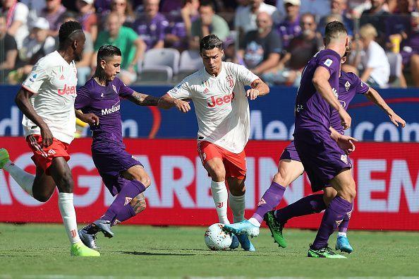 Laju Juventus Tertahan di Markas Fiorentina