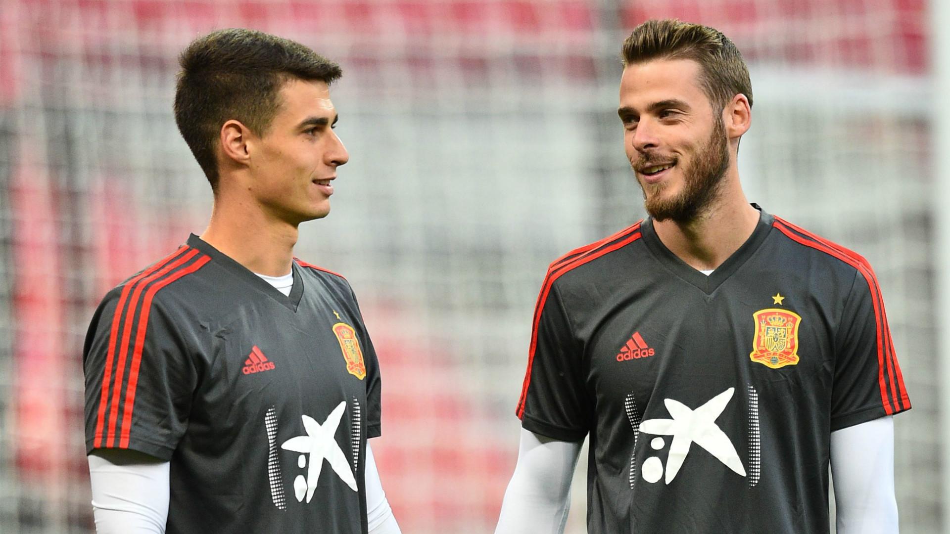 Moreno Tegaskan Kepa Bukan Berstatus Kiper Utama Timnas Spanyol